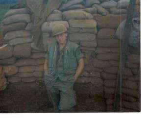 Michael E. O'Hara at Khe Sanh, 1968.