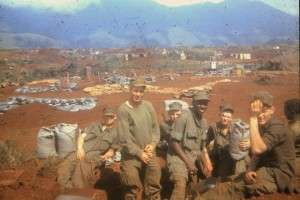 Marines from Second Platoon, Bravo Company, Gray Sector, Khe Sanh Combat Base not long before the Siege. Photo courtesy of Michael E. O'Hara