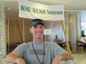 Mark Spear at the Khe Sanh Veterans Reunion in San Antonio. Texas, 2010. © Betty Rodgers 2010