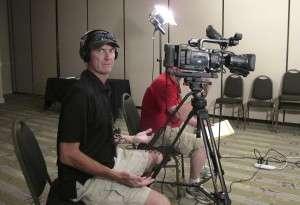 Mark Spear, clowning around at the San Antonio shoot. © Betty Rodgers 2010