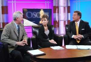 Left to Right: Lance Thompson, Sherry Briscoe and KIVI-TV Anchor Don Nelson. Photo courtesy of Pamela Thompson.