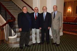 Left to right: Tom Eichler, Michael O'Hara, Ken Rodgers and Matt Iverson © Betty Rodgers 2014