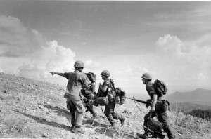 Marines on Hill 881 South. Photo courtesy of NamViet News