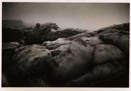 The mist smothers Khe Sanh. Photo by David Douglas Duncan
