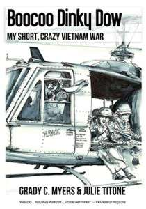 Book cover for BOOCOO DINKY DOW, MY SHORT CRAZY VIETNAM WAR