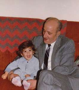 A young Robin Zimmermann with her grandfather. Photo courtesy of Robin Zimmermann.