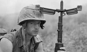 American warrior on Hill 471.