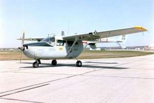 Air Force photo of a Cessna O-2A.