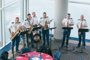 The Idaho National Guard Band at the BSU Veterans Day Festivities. Photo courtesy of Lori Sprague