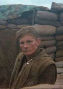 Blog author, Ken Rodgers, while serving at Khe Sanh, 1968. Photo courtesy of Michael E. O'Hara.