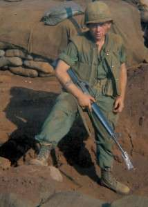 Michael E. O'Hara at Khe Sanh.