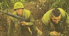 Marines on The Ghost Patrol.  Cal Bright on the left. Photo courtesy of Robert Ellison/Blackstar