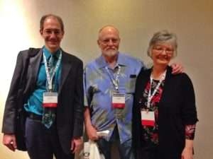 Left to Right: Dr. Brian Meyer, Ken Rodgers, Betty Rodgers. Photo courtesy of Anne Jackson.