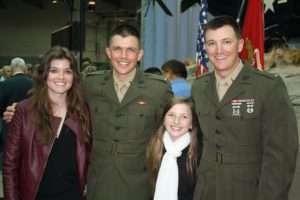 Mike McNamara's children from left to right: Katherine, John, Colleen, Patrick. Photo courtesy of Mike McNamara.