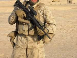 Mike McNamara in Afghanistan. Photo courtesy of Mike McNamara.