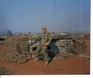Ron Ryan shortly before the Siege of Khe Sanh began. Photo courtesy of Michael E. O'Hara.